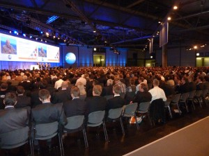 A full house at DSAG Jahreskongress 2011