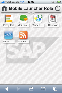 Sweetlets apps now available on mobile via SAP NW 7.3 Portal