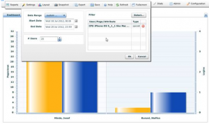Filtering mobile users on a Click Stream SAP Portal analytics report